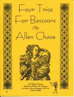 Four Trios for Bassoon - CHASE, ALLEN