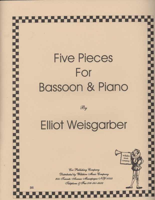 Five Pieces - WEISGARBER, ELLIOT