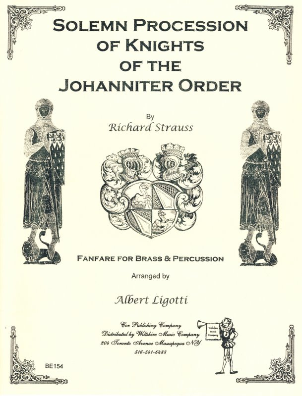 Solemn Procession of Knights of the Johanniter Order (Albert Lig