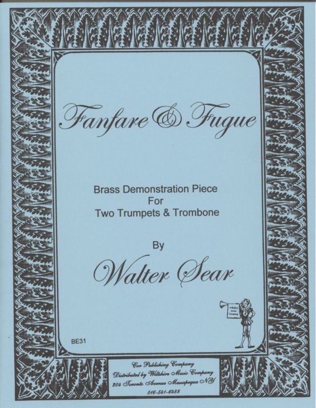 Fanfare and Fugue - SEAR, WALTER
