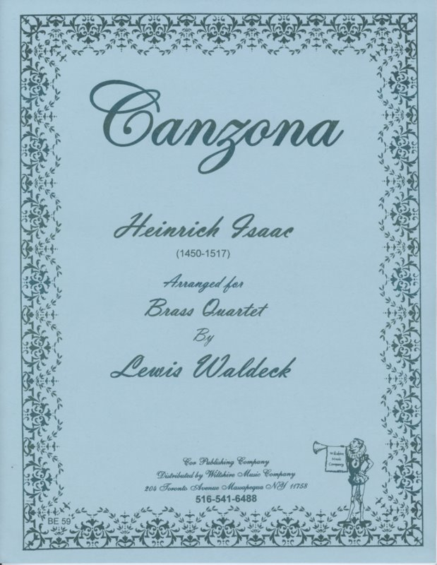 Canzona (Lewis Waldeck) - ISSAC, H.