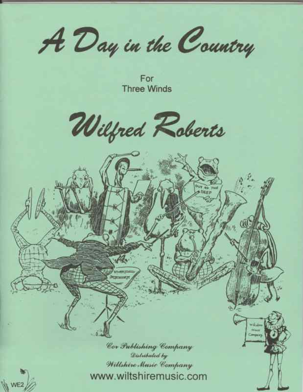 A Day in the Country - ROBERTS, WILFRED BOB