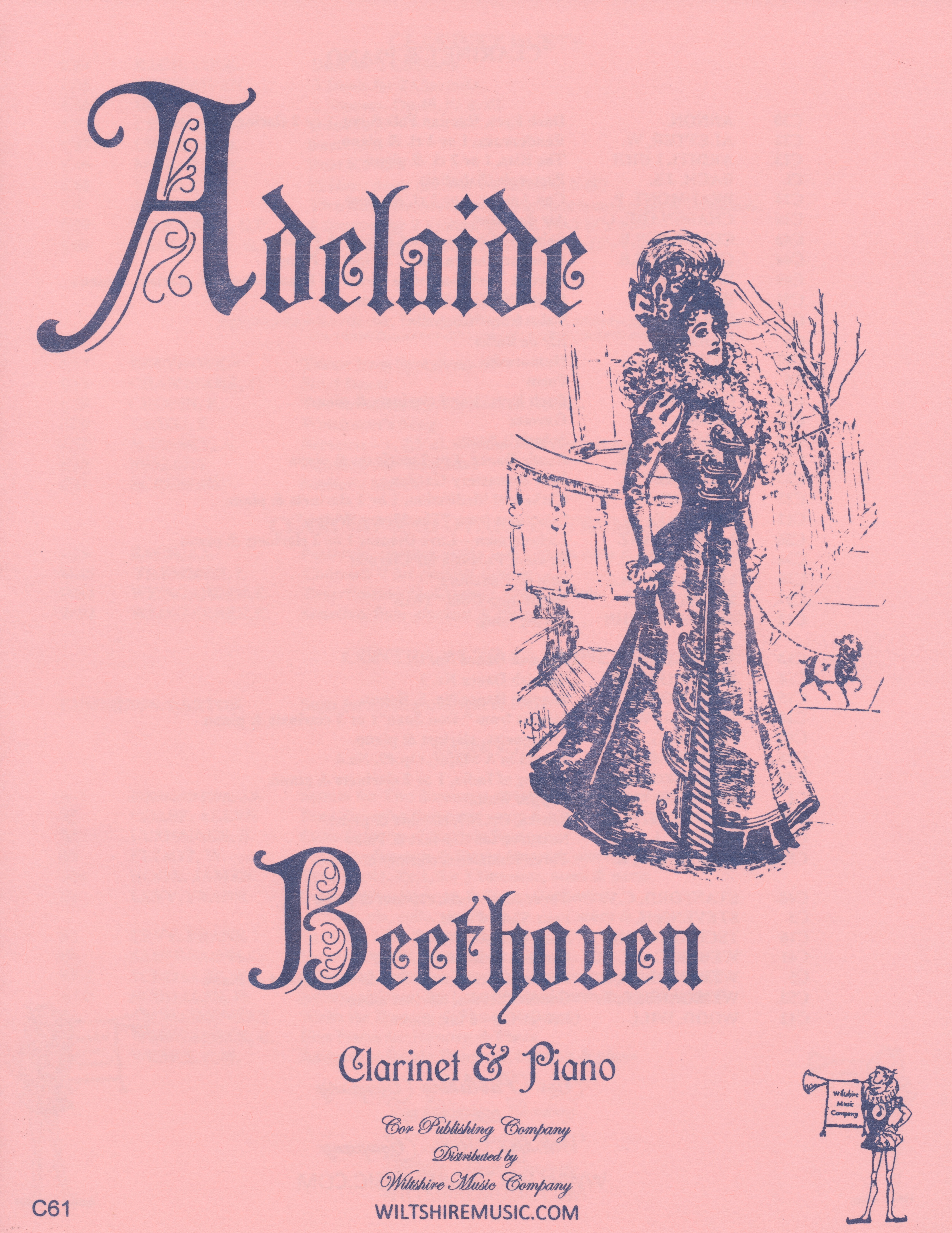 Adelaide, Beethoven, clarinet & piano