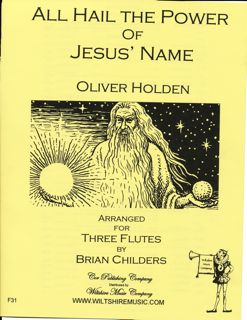 All Hail the Power of Jesus' Name - HOLDEN, OLIVER