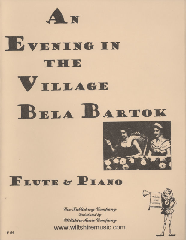 An Evening In The Village - BARTOK, BELA