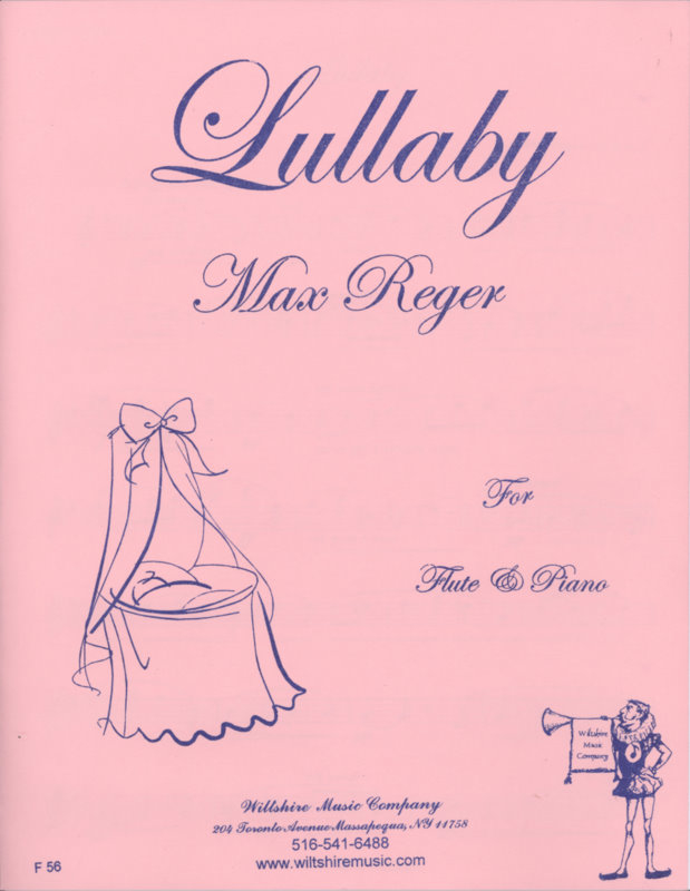 Lullaby - REGER, MAX