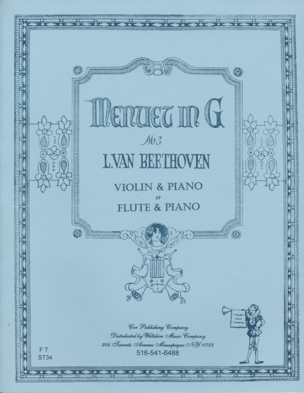 Minuet in G - BEETHOVEN, L.