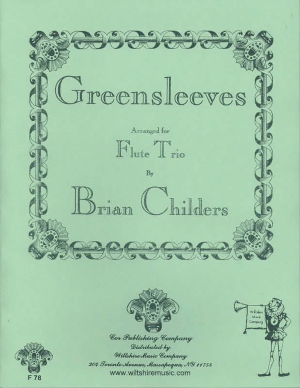 Greensleeves (Brian Childers) - ANONYMOUS
