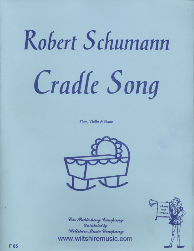 Cradle Song, Schumann, flute, violin & piano