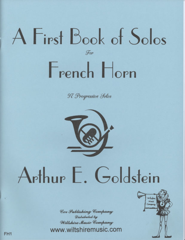 A First Book of Solos for French Horn - GOLDSTEIN, ARTHUR