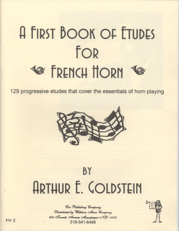 A First Book of Etudes for French Horn - GOLDSTEIN, ARTHUR
