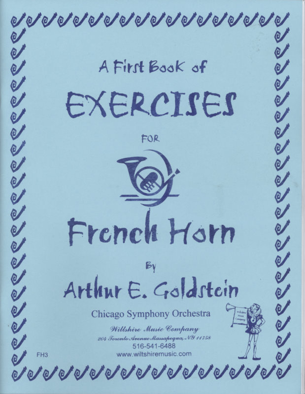 A First Book of Exercises for French Horn - GOLDSTEIN, ARTHUR