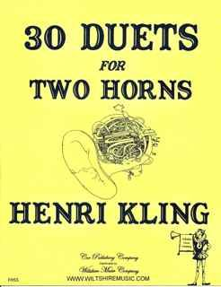 30 Duets for Two Horns, Henri Kling