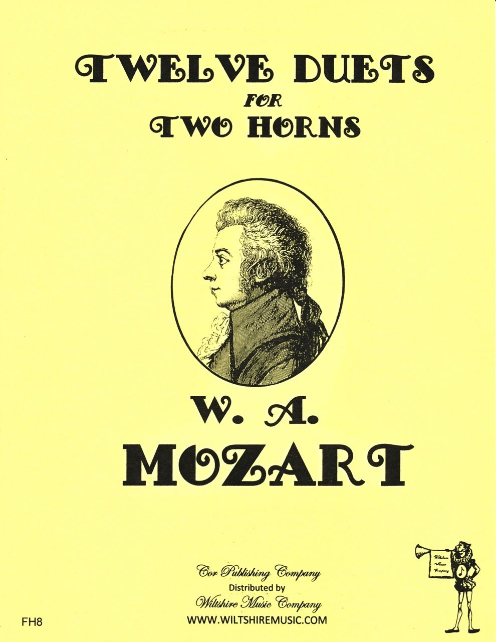 12 Duets for 2 Horns, W.A. Mozart