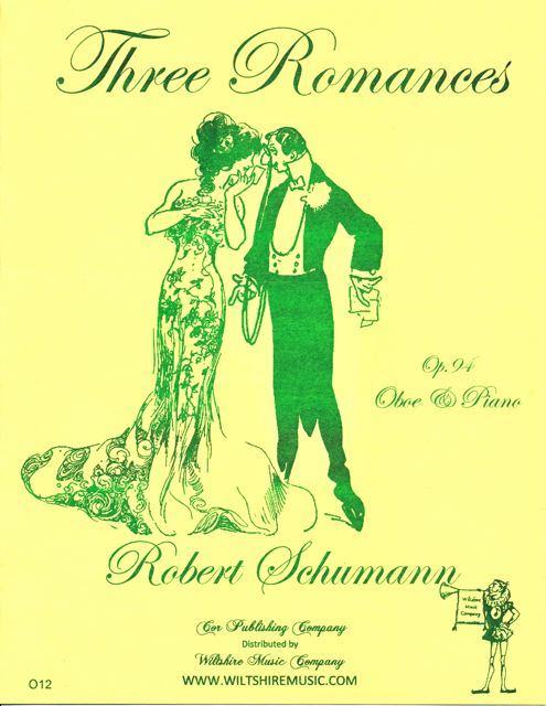 Three Romances, Op.94,for oboe & piano Robert Schumann