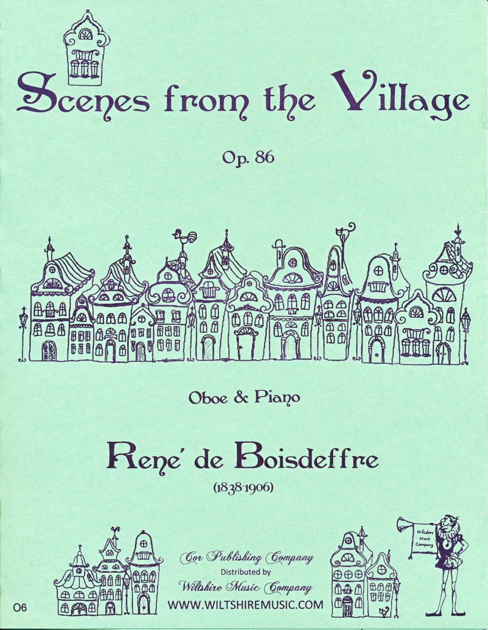Scenes form the Village, Rene de Boisdeffre