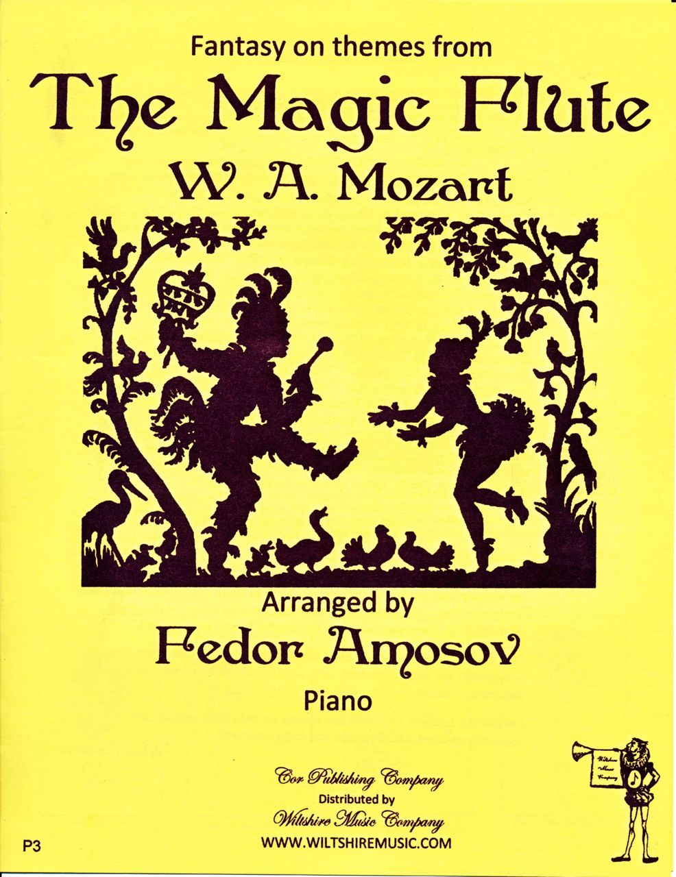 Fantasy on Themes from The Magic Flute, Fedor Amosov