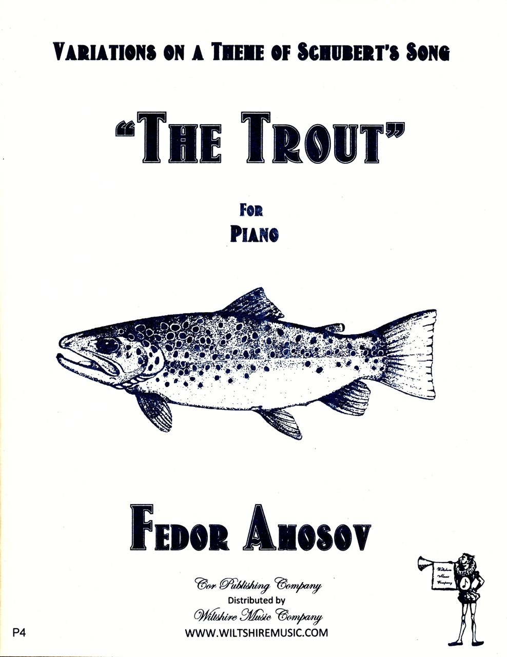 "Variations on a Theme of Schubert's Song ""The Trout"", Fedor Amos"