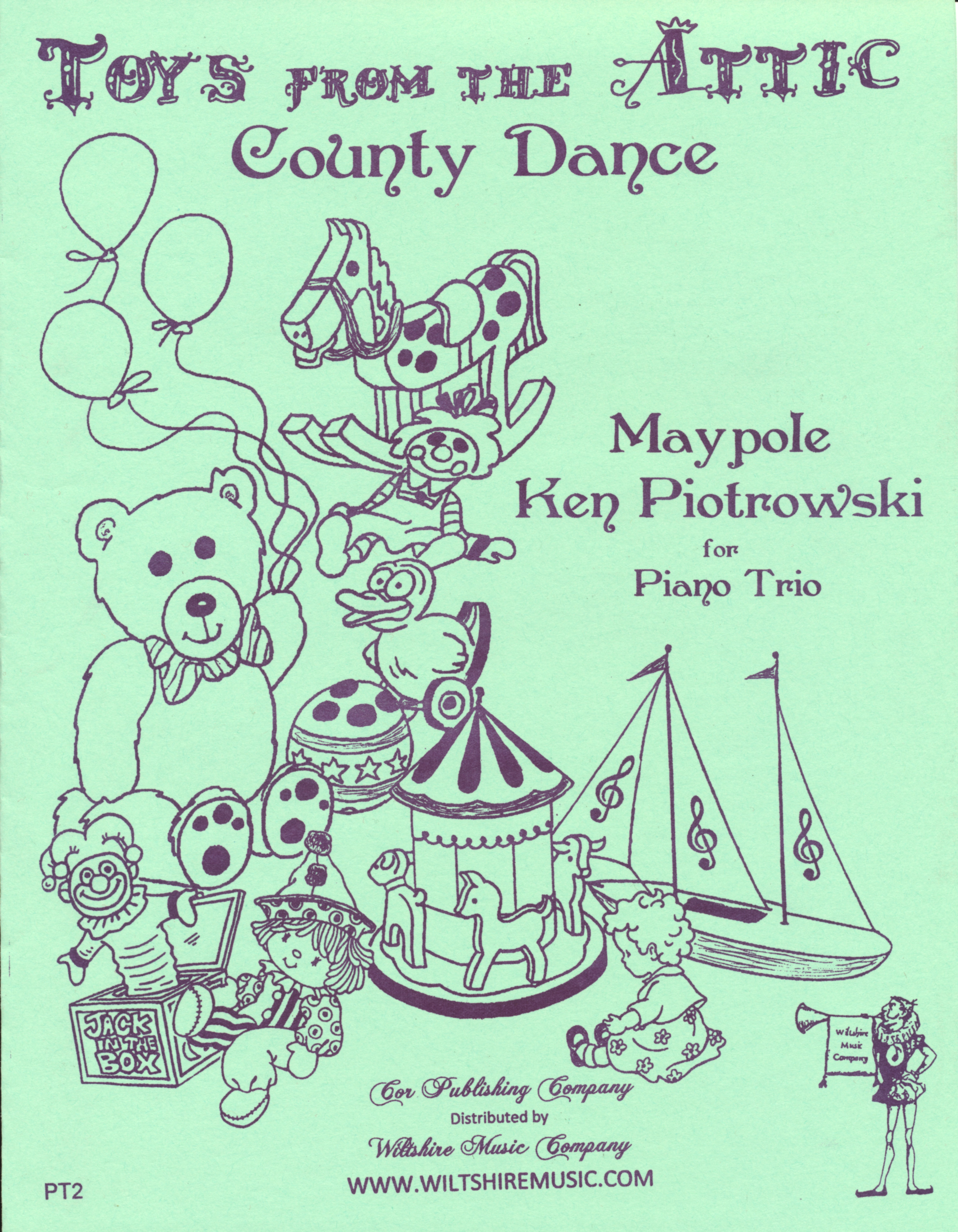 County Dance, Maypole, Ken Piotrowski, for Piano Trio