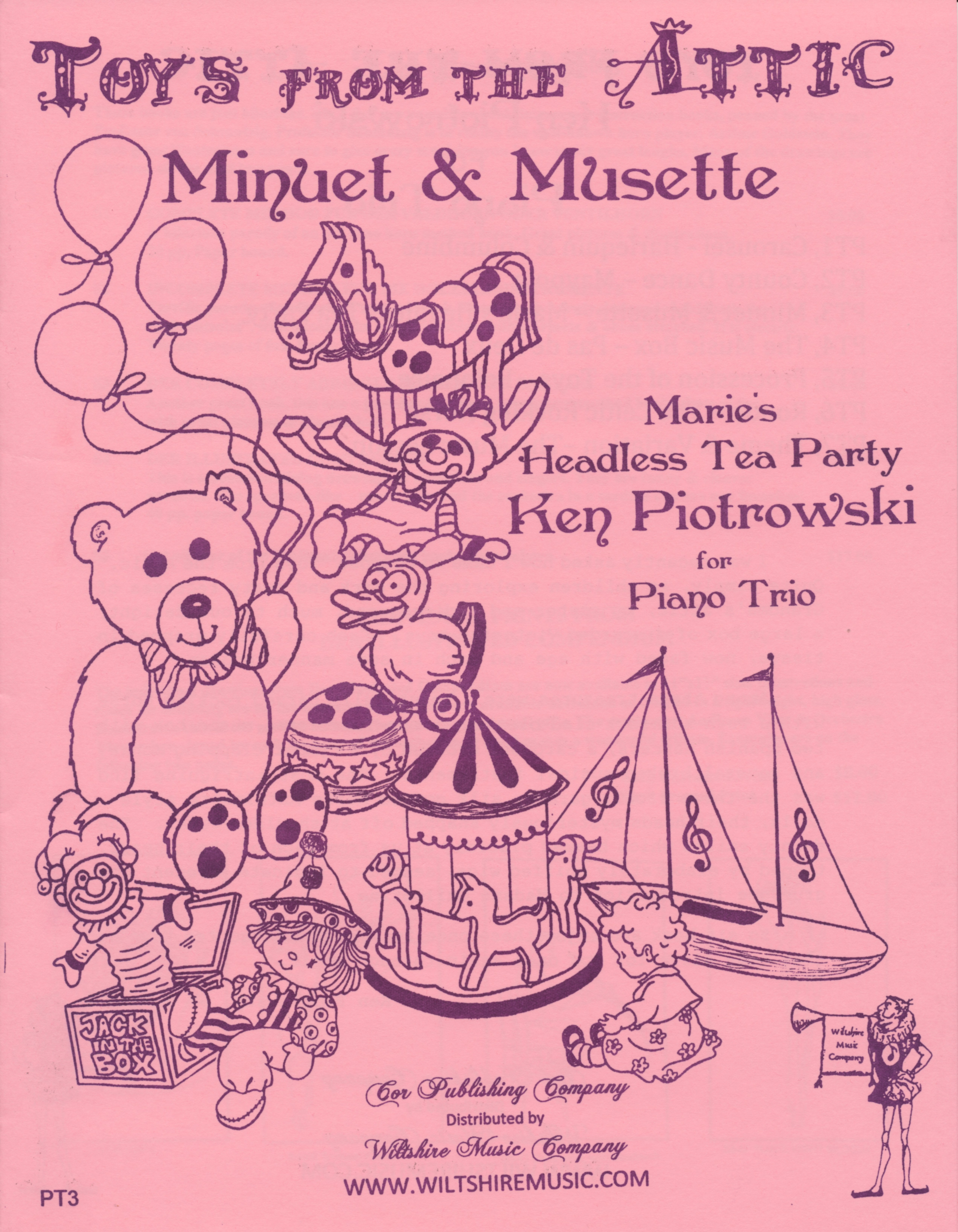 Minuet & Musette, Marie's Headless Tea Party, Ken Piotrowski