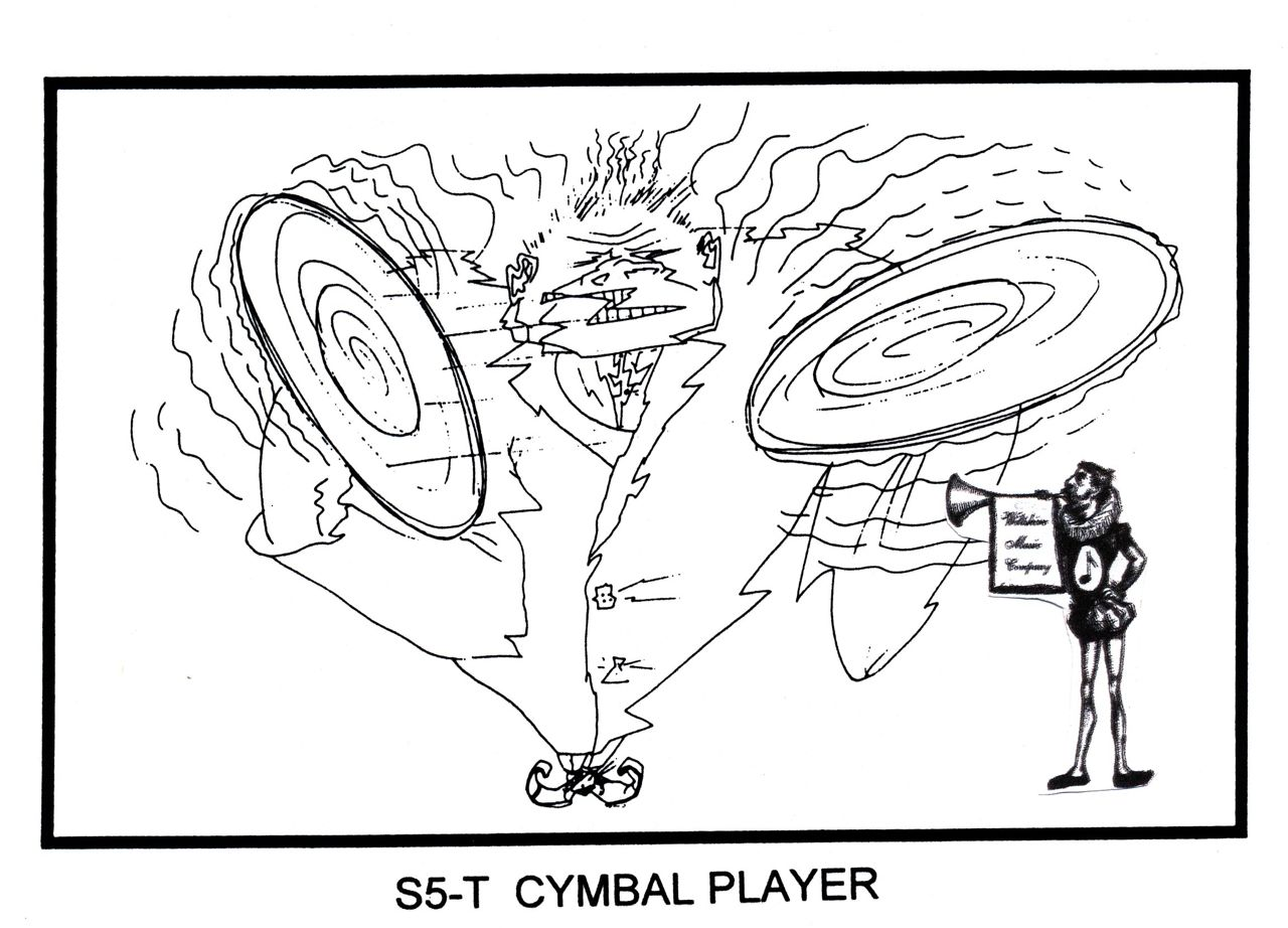 Cymbal Player