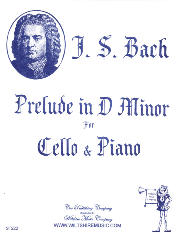 Prelude in D Minor - BACH, J.S.