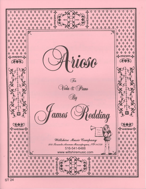 Arioso - REDDING, JAMES
