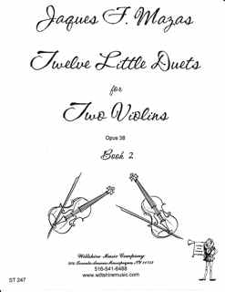 12 Little Duets Op. 38 - Book 12(#s 7-12) - MASAS, J.F.