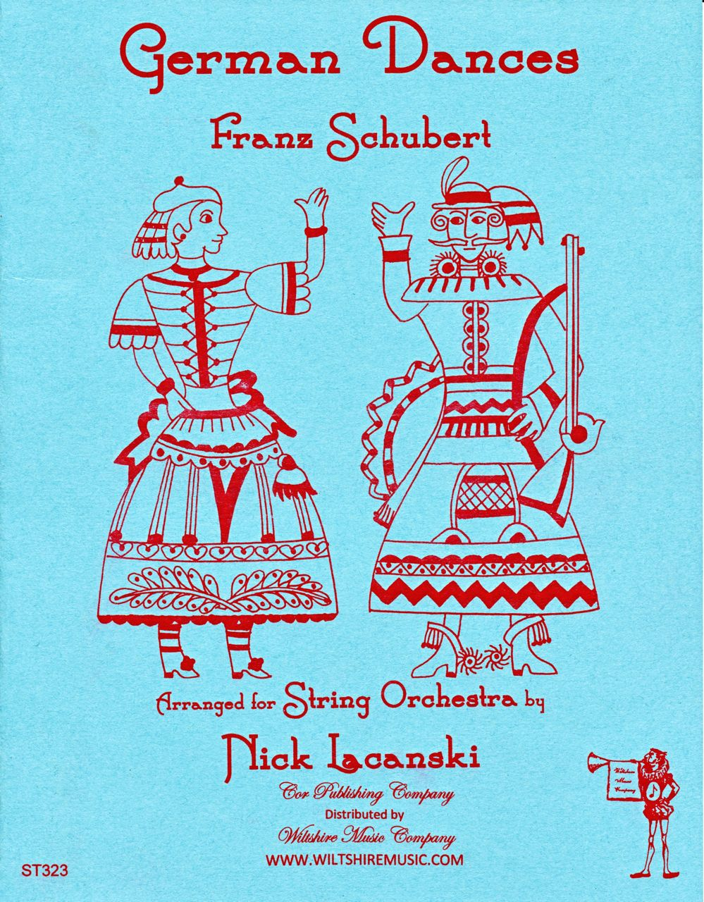 German Dances, Franz Schubert (Lacanski)