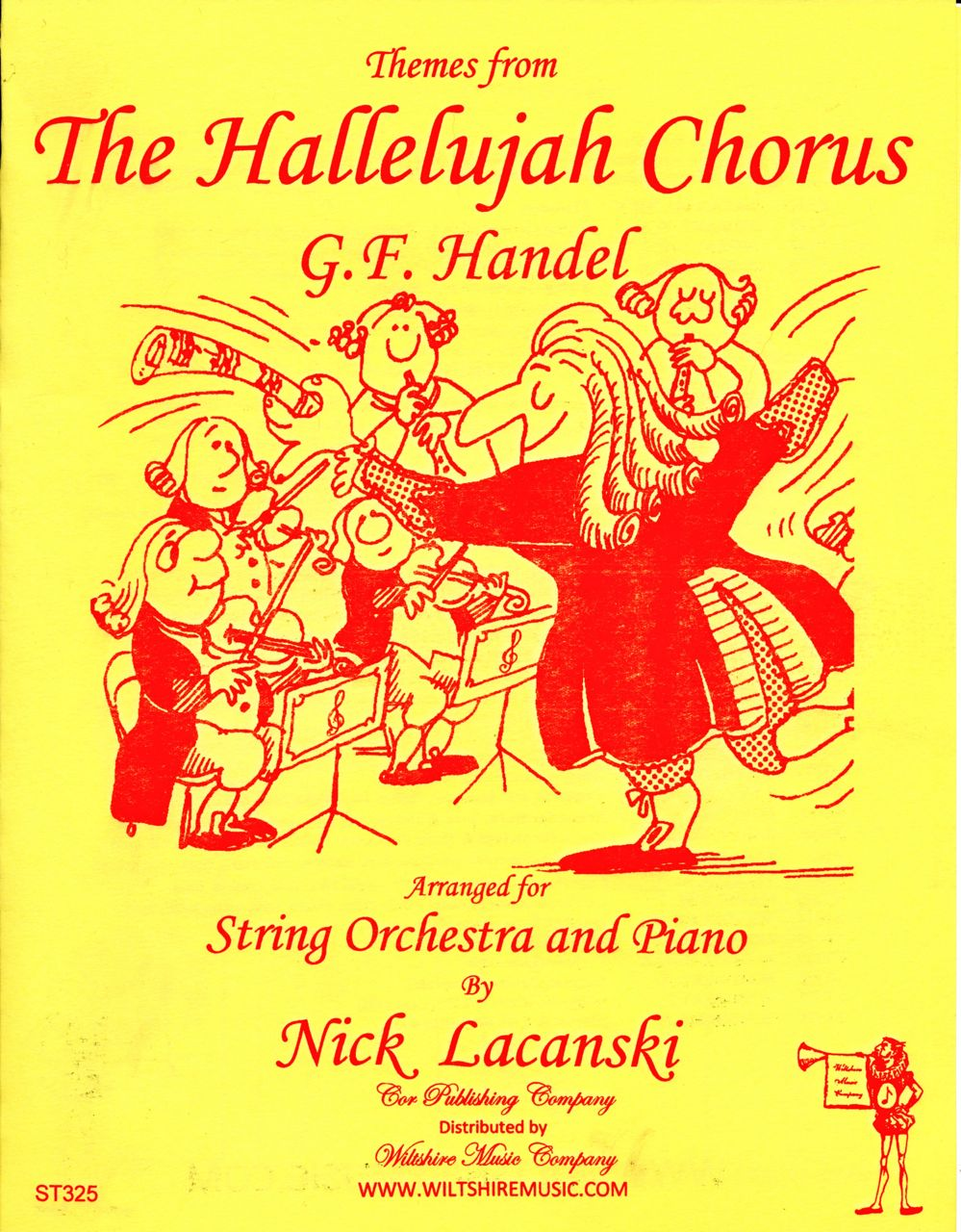 Themes from the Hallelujah Chorus, Handel ( Lacanski)