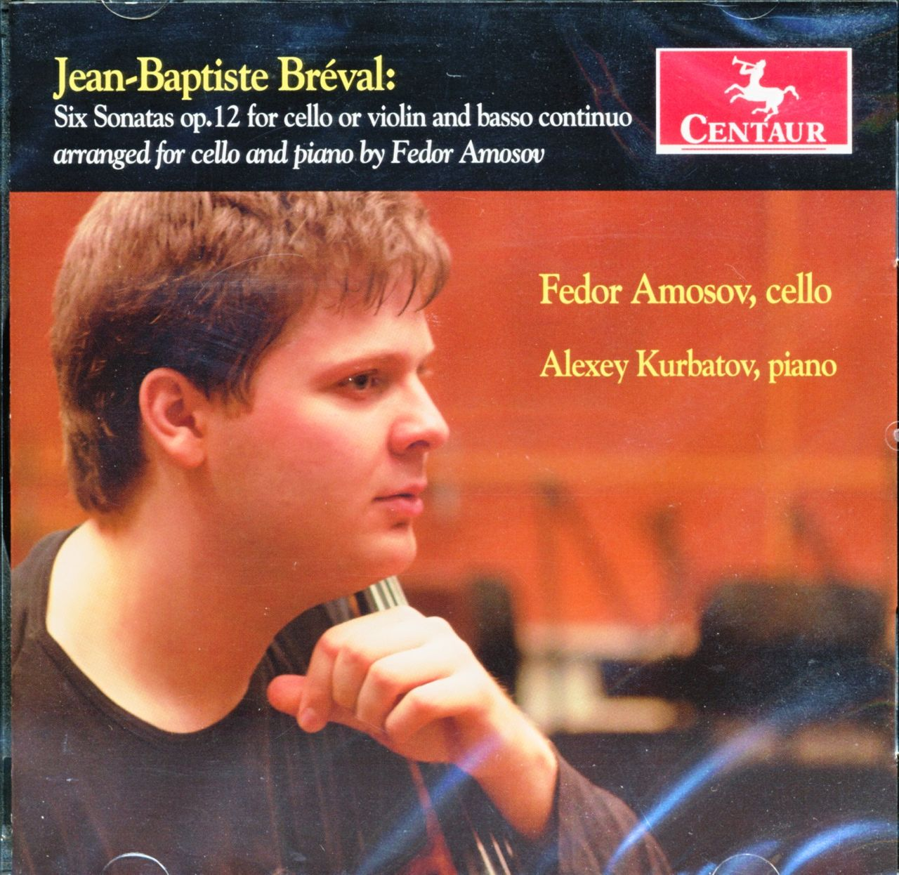Six Sonatas for Cello, Op.12, J.B Breval