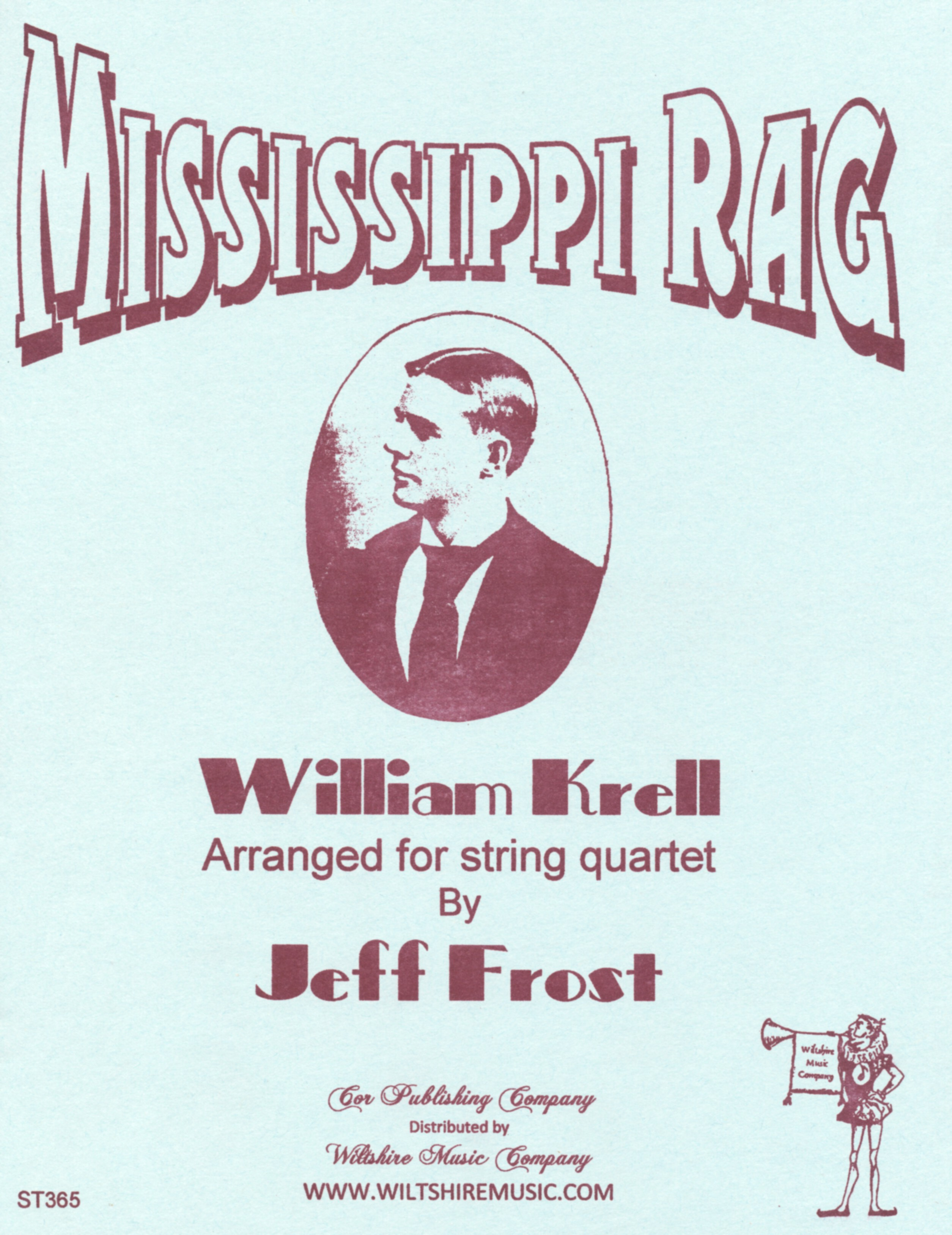 Mississippi Rag, Wm. Krell ( Frost) for string quartet