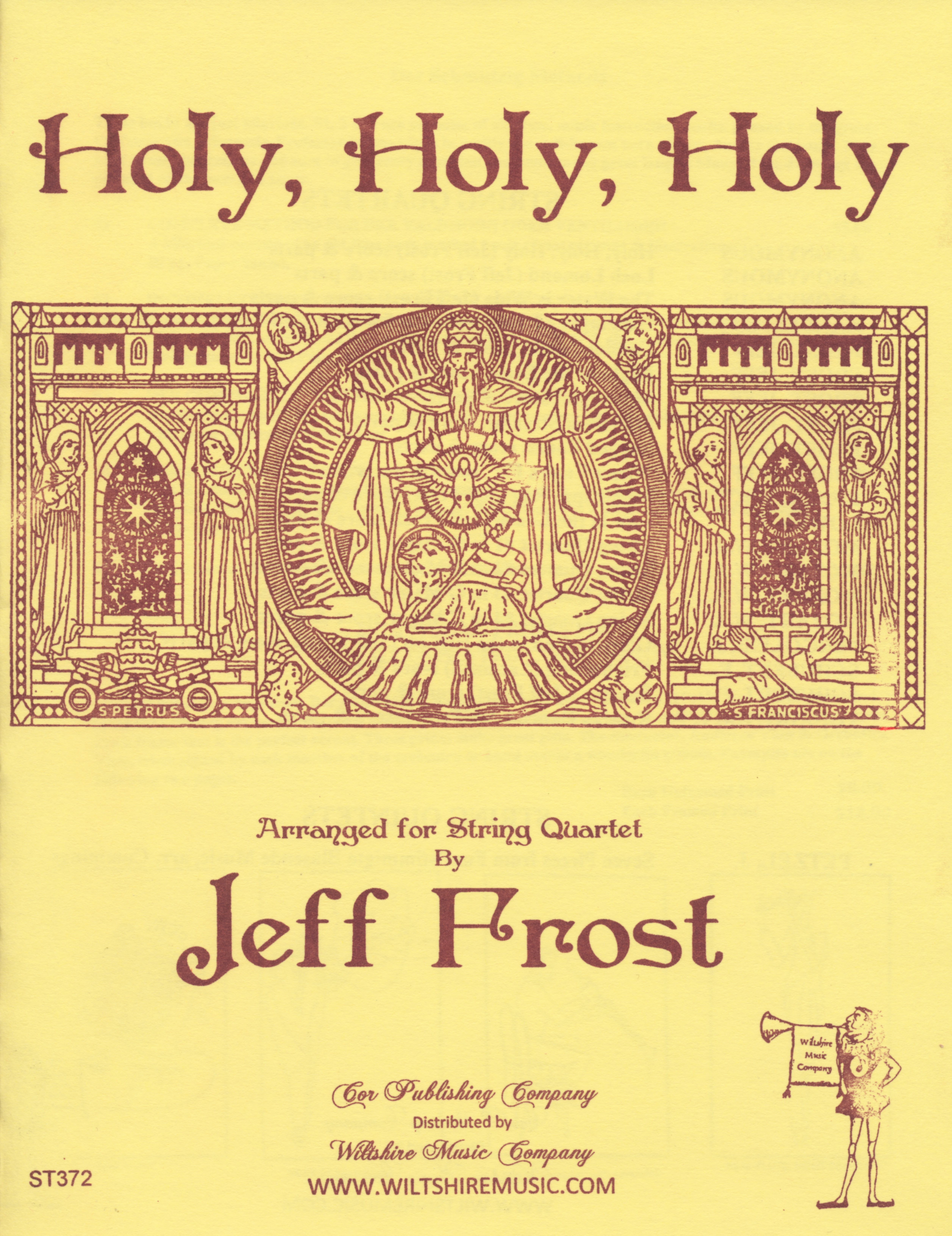 Holy, Holy, Holy,R. Hebner arr. Jeff Frost