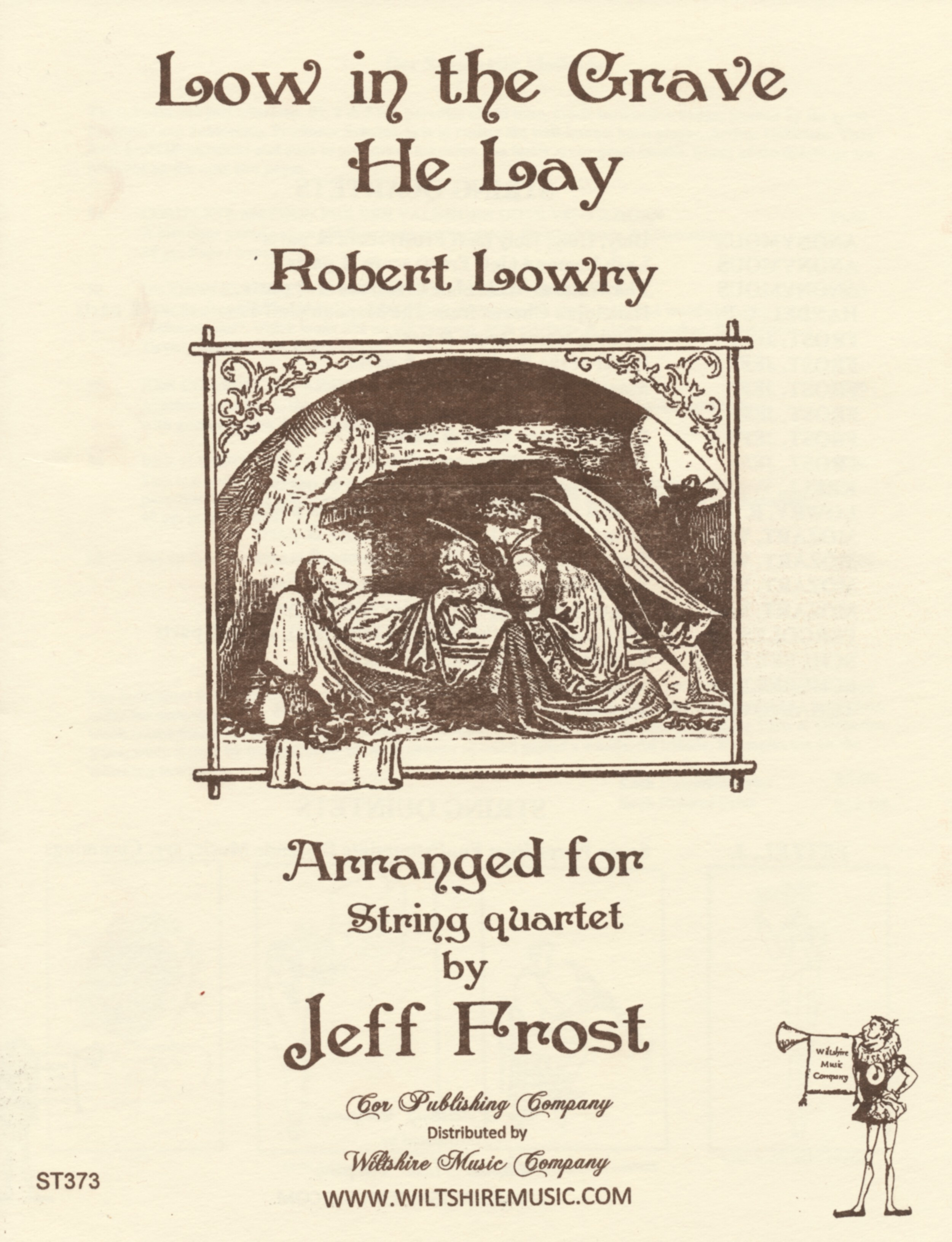 Low in the Grave, Robert Lowry, arr. Jeff Frost