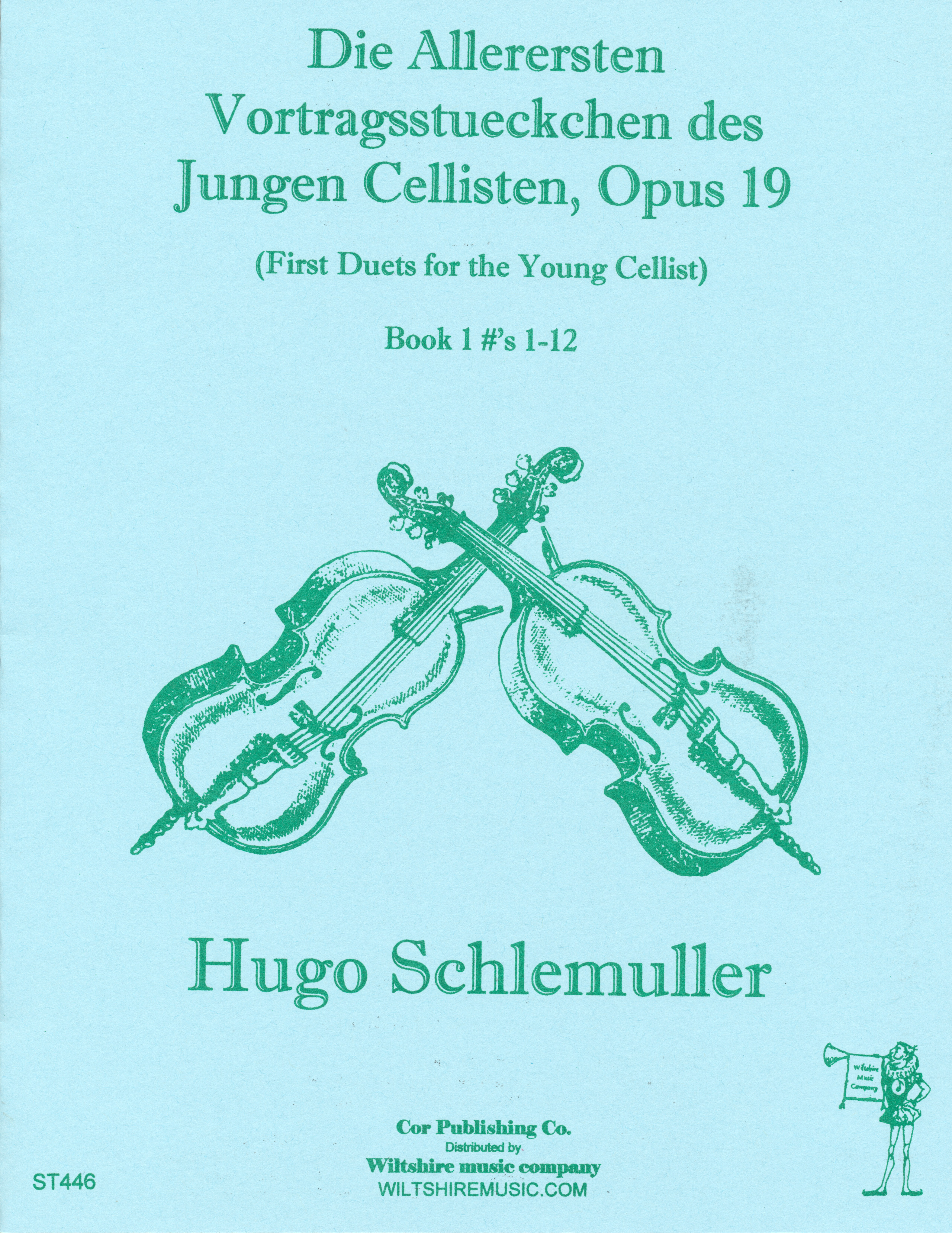 First Duets for the Young Cellist, Book 1, Hugo Schlemuller