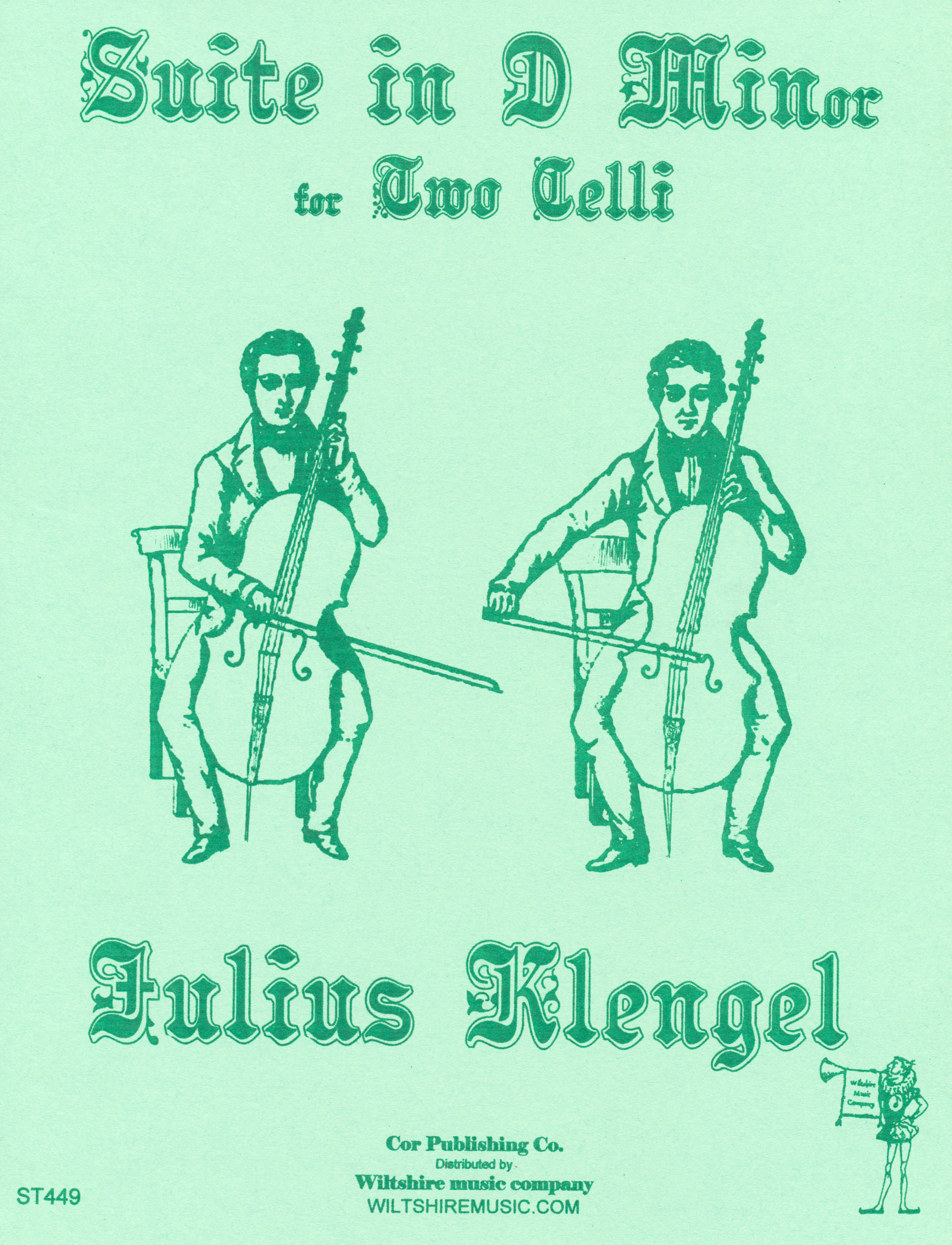 Suite in D Minor Op.22, for 2 Celli, Julius Klengel