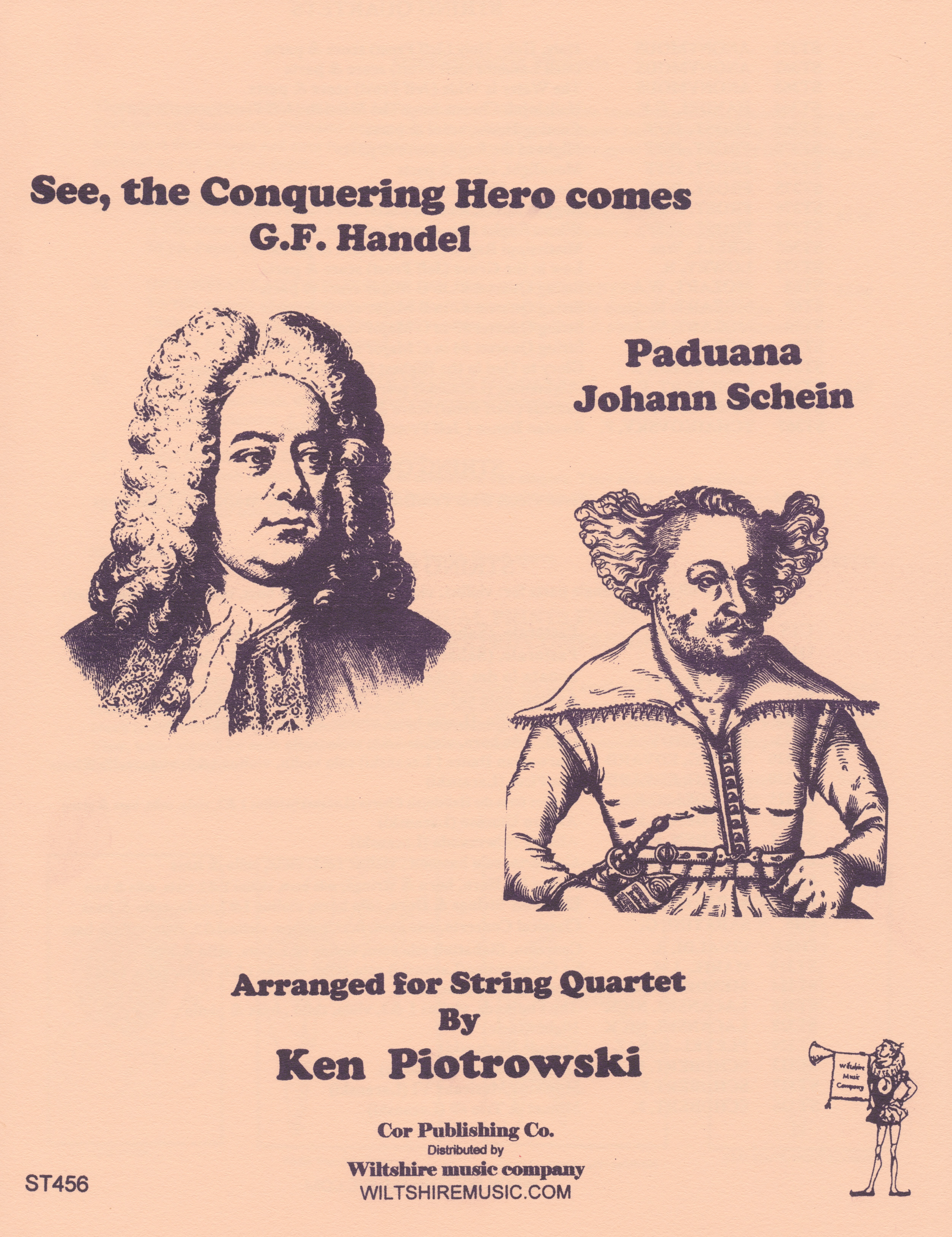 See, the Conqueting Hero Comes , Handel, & Paduano, J. Schein, s