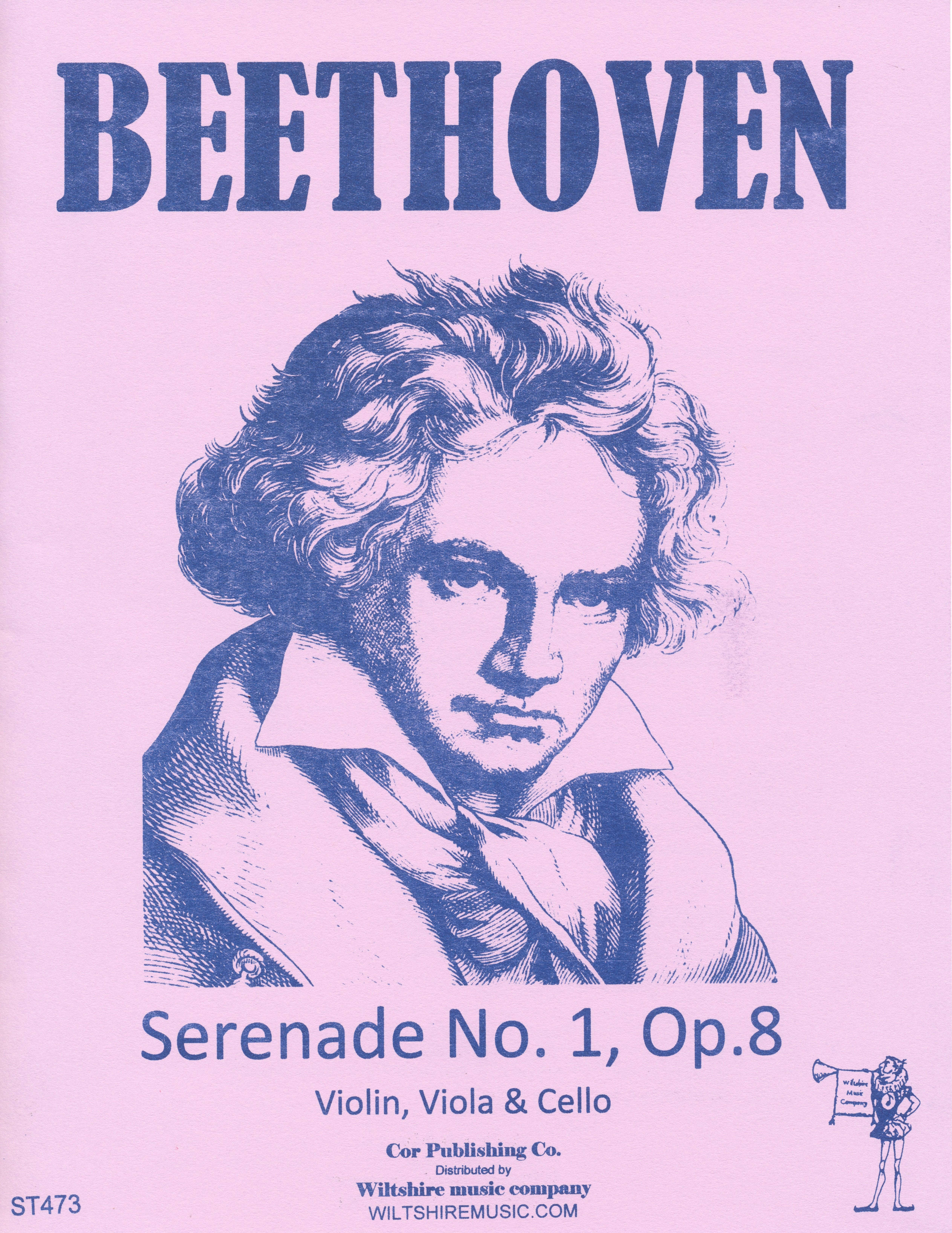 Serenade No.1,Op.8, Beethoven, violin, viola & cello