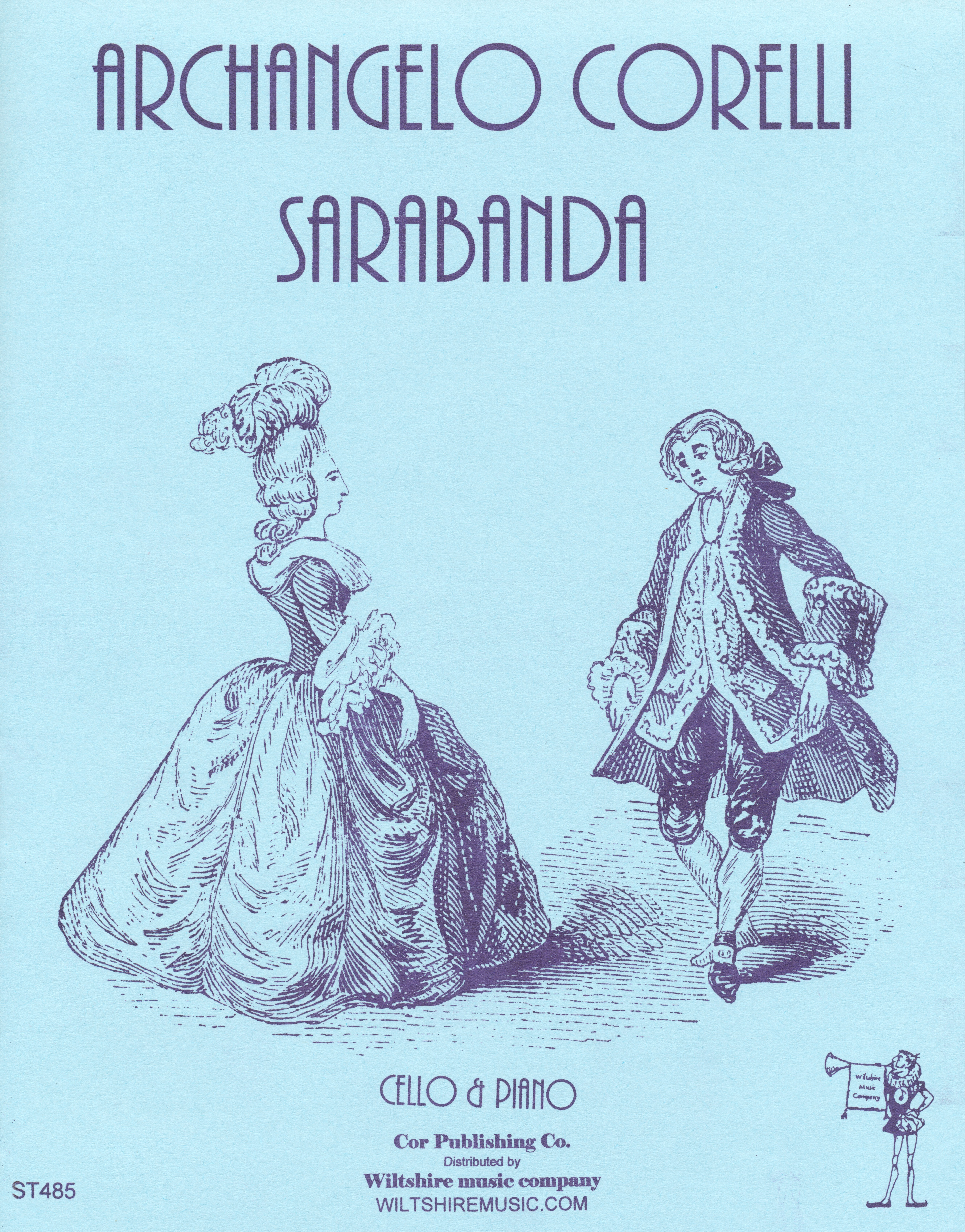 Sarabanda, A. Corelli, cello & piano