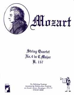 String Quartet #4 in C Major, W.A. Mozart