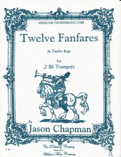 12 Fanfares in 12 Keys - CHAPMAN, JASON