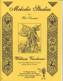 Melodic Studies for the Trumpet - VACCHIANO, WILLIAM