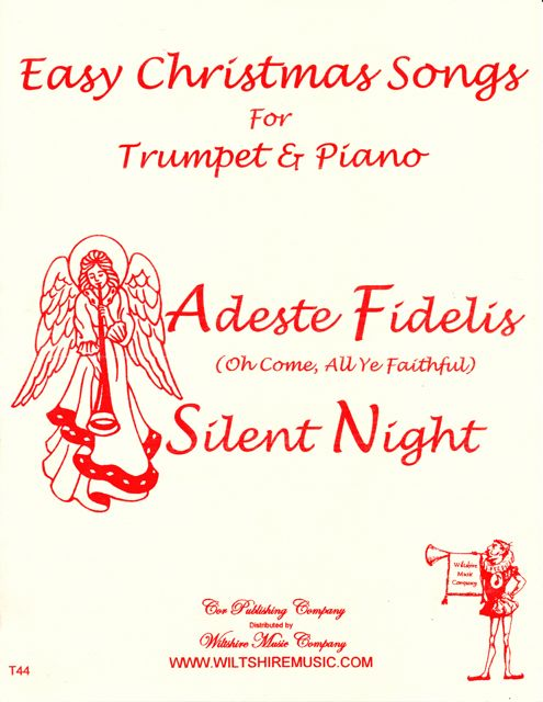 Easy Christmas Songs for Trumpet & Piano