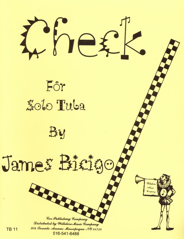 Check - BICIGO, JAMES