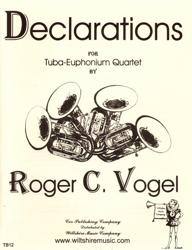 Declarations - VOGEL, ROGER