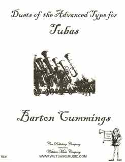 Duets of the Advanced Type for Tubas - CUMMINGS, BARTON