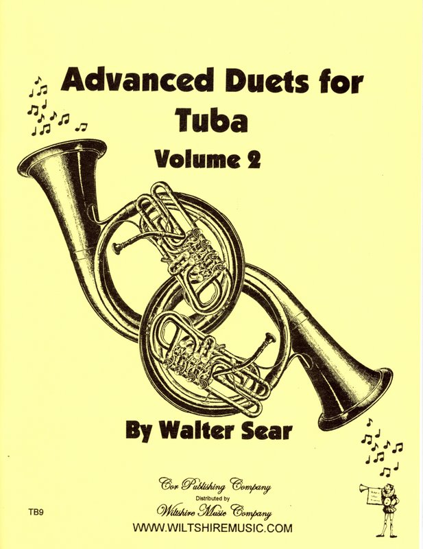 Advanced Duets for Tuba, Volume 2 - SEAR, WALTER