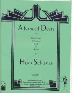 Advanced Duets for Lower Voices Instruments Vol. 1 - SCHOALES, H