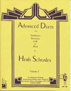 Advanced Duets for Lower Voices Instruments Vol. 2 - SCHOALES, H